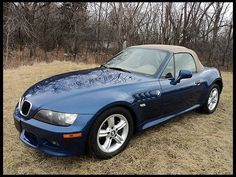 2000 BMW Z3 Roadster Convertible. Someday....probably not! Lol