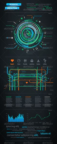Infographics element with a map of the city  - Infographics  #infographic #graphic #design #graphicdesign #web #graph #stats #chart #statistic #pie #vector #eps #illustrator #stylish #teal #icons #city #subway