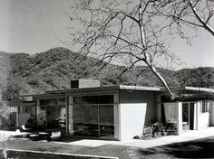 Case Study House No.3, Los Angeles CA (1949, demolished) | Architect : William W. Wurster and Theodore Bernardi