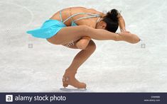 Download this stock image: Christiane Berger from Mannheim shown in action during her free skate at the German figure skating championships in Oberstdorf, Germany, Sunday, 7 January 2007. She reached second place. Photo: Stefan Puchner - D3W6BB from Alamy's library of millions of high resolution stock photos, illustrations and vectors.