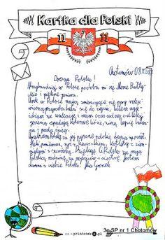 Migawki z życia klasy: Listy do Polski Diy And Crafts, Education, School, Polish, Historia, Vitreous Enamel, Onderwijs, Learning, Nail