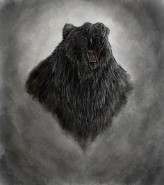 Beorn by Ominously Watch Report Fan Art / Digital Art / Drawings