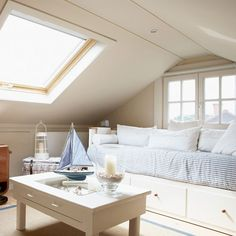 Why is it that sloped ceilings make an area cozier? Loft conversion