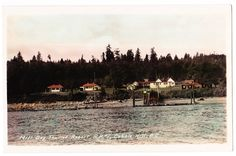 BC – MILL BAY, Mill Bay Tourist Resort, Gowen c.1938-1950 RPPC