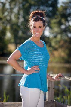 91371-8199_topp med hullmønster Beautiful World, Crochet Top, Free Pattern, Knitting, Knits, Tops, Women, Fashion, Moda