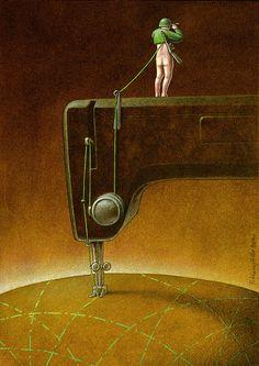 Satirical Art by Pawel Kuczynski