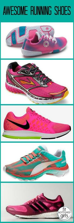 Need (or just want) new running shoes? These five fab options will have you itching to log some miles.  | via @FitBottomedGirl