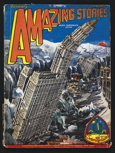 Amazing Stories (1929), edited by Hugo Gernsback