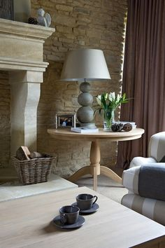 image: Sims Hilditch interior design and Neptune handmade interiors Neptune Home, Chair And Ottoman, Cool Rooms, Decoration, Interior Design Living Room, Interior Inspiration, Home Furniture, Living Spaces, House Styles