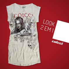 #tshirtdress #colcci #fashion #dress #tshirt