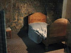 Marie Antoinette's cell at La Conciergerie. This was her last room to sleep in before her execution