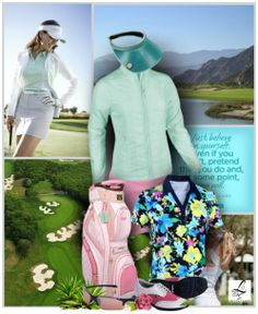 To become successful in golf, you just have to believe in yourself. See this at lorisgolfshoppe.polyvore.com only! #golf #polyvore #fashion #lorisgolfshoppe