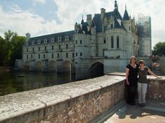 Chateau Chenonceau, Chenonceaux , France. I wanted to see this since I was a little girl.  Yeah, I totally teared up in the grand hall when I realized I was finally there.