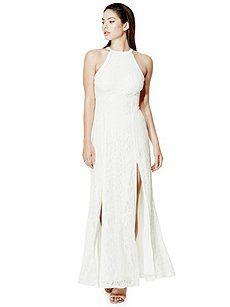 392c355315e Alina Sleeveless Lace Maxi Dress