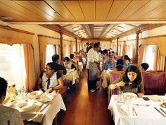 Elegant dining aboard Golden Chariot Restaurant