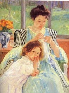 gail sirna | Mary Cassatt, 1844-1926
