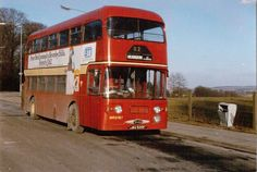 Daimler Fleetline / Alexander D Type purchased new by Western SMT as their in It became Clydeside Scottish in June 1985 and ran in service very briefly, before donating its it's roof to 76 in November SMT bus at Mearnskirk, Glasgow pic Jim Geary Bus Coach, Glasgow Scotland, Busses, Coaches, Transportation, Train, Button, City, Modern