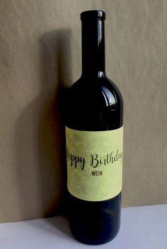 Wine Label/ Lisa-Marie Opitz Design
