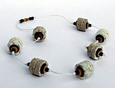 book page necklace | Flickr - Photo Sharing!