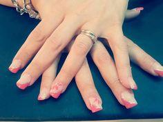#corallo#fiore#argento#french#nails#fixelnailslaboratory