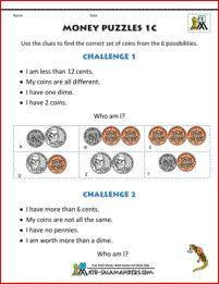 math worksheet : 1000 images about 1st grade math worksheets on pinterest  1st  : 1st Grade Math Worksheets Money