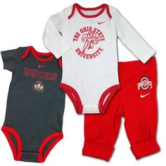Ohio State Baby Fan Outfits #ohiostate #buckeyes #baby #toddler Ohio State Baby, Baby Fan, Baby & Toddler Clothing, Infant, Bodysuit, Buckeyes, Outfits, Clothes, Fashion Trends