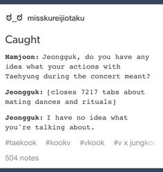 I mean, why is this so relatable? Taehyung, Bts Jungkook, Text Imagines, Bts Scenarios, Vkook Memes, Bts Texts, Text Memes, Bts Memes Hilarious, Bts Quotes