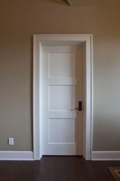 1000 Images About Wood Doors With White Trim On Pinterest