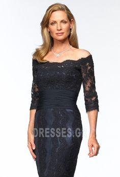 Αποτέλεσμα εικόνας για φορεματα με δαντελα μεχρι το γονατο