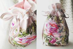 MQG Drawstring Bag Swap | Fifteen Sixteen