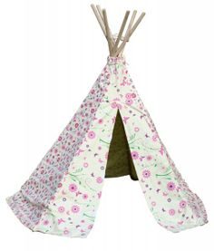 Childrens Butterflies & Flowers Traditional Wigwam - EarlyWhirly - The Best Deals on The Best Wooden & Educational Toys