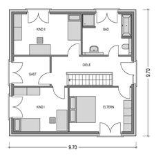Bild 3 von 3: Obergeschoss
