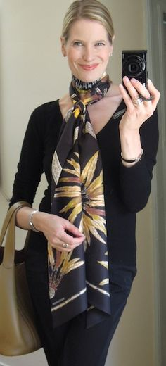 MaiTai's Picture Book: Maxi Twilly.. maxi fun - how to wear, knot and tie