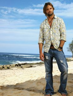 Josh Holloway as James 'Sawyer' Ford on LOST