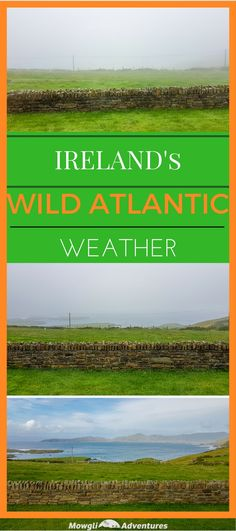 Do you know what to pack for a Wild Atlantic Way road trip in Ireland? This post has you covered so you don't let the weather ruin 1 epic driving adventure.