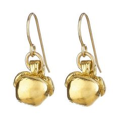 Chupi You Are The Apple Of My Eye Earrings in Gold