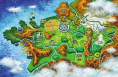 Pokemon X - Y, Kalos country inspired by France.