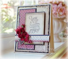 Card by Andrea Ewen using stamps and dies from Verve Stamps. #vervestamps