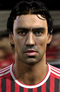 Nesta face for Pro Evolution Soccer 2012 Pro Evolution Soccer, Nesta, Faces, Pes 2013, The Face, Face