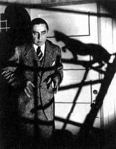 Bela Lugosi in ''The black cat''