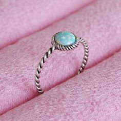 Potion - Faux Opal & Sterling Silver Ring