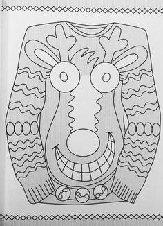 creative haven ugly holiday sweaters coloring book creative haven coloring books ellen christiansen