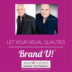Let your visual qualities - BRAND U! http://www.branduportraits.com/