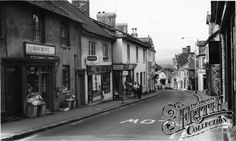Photo of Bovey Tracey, Fore Street Devon, Old Photos, England, Street, Places, Antique Photos, Vintage Photos, Roads, English