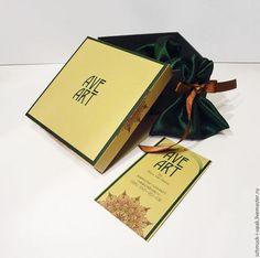 Коробки на заказ малым тиражом! Коробки крышка-дно из цветного картона с цветной печатью логотипа.