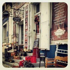 Antiques shop in Hungary, Budaörs