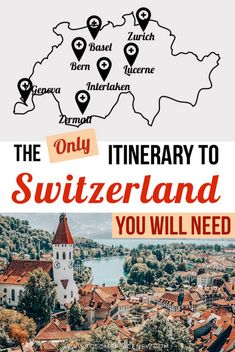 Best Switzerland Itinerary 7 days – Must see places in 7 days in Switzerland – Travel Destinations Backpacking Europe, Europe Travel Tips, Travel Guides, Travel Destinations, Travel Hacks, Time Travel, Rv Travel, Travel Trailers, Travel Deals