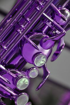 Saxaphone Keys in Purple 8x10. $20.00, via Etsy.