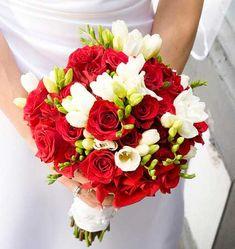 свадебные букеты красные - Поиск в Google