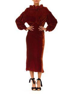 1930s Vintage Surrealist Dress in Luxurious Silk par MORPHEWCONCEPT
